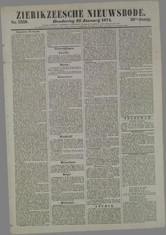 Zierikzeesche Nieuwsbode 1874-01-22