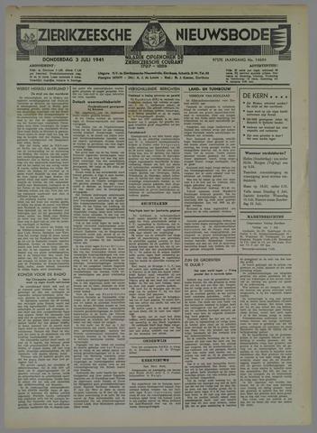 Zierikzeesche Nieuwsbode 1941-07-04