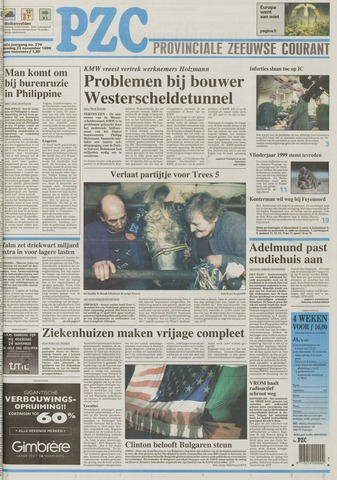 Provinciale Zeeuwse Courant 1999-11-23