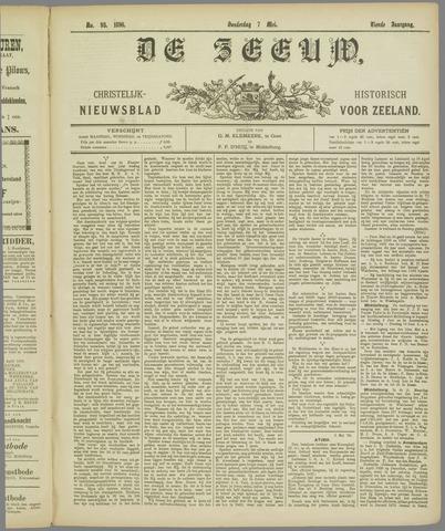 De Zeeuw. Christelijk-historisch nieuwsblad voor Zeeland 1896-05-07