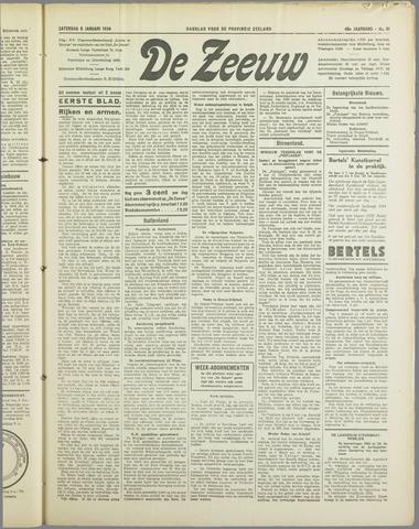 De Zeeuw. Christelijk-historisch nieuwsblad voor Zeeland 1934-01-06
