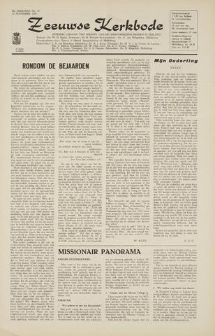 Zeeuwsche kerkbode, weekblad gewijd aan de belangen der gereformeerde kerken/ Zeeuwsch kerkblad 1965-11-12