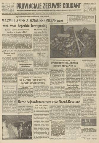 Provinciale Zeeuwse Courant 1959-03-14