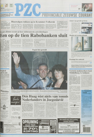 Provinciale Zeeuwse Courant 2000-08-12