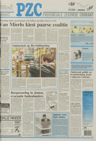 Provinciale Zeeuwse Courant 1994-05-06