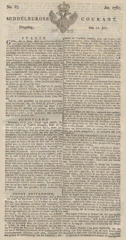 Middelburgsche Courant 1761-07-21