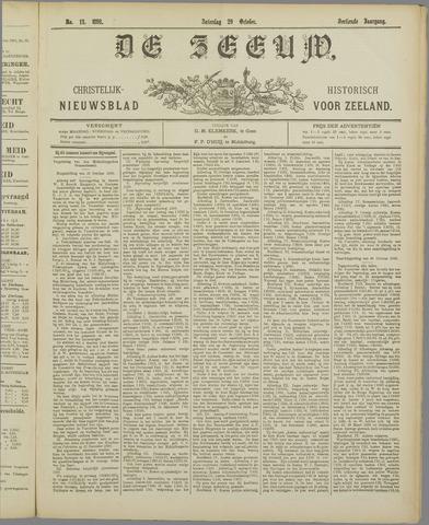 De Zeeuw. Christelijk-historisch nieuwsblad voor Zeeland 1898-10-29