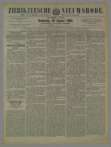 Zierikzeesche Nieuwsbode 1905-01-26