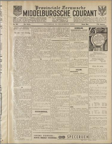 Middelburgsche Courant 1932-12-24