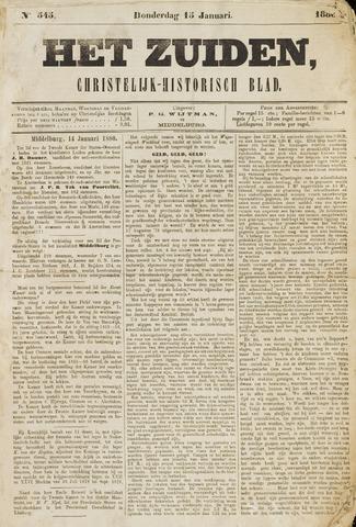 Het Zuiden, Christelijk-historisch blad 1880-01-15