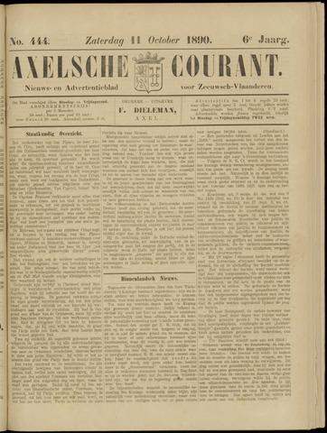 Axelsche Courant 1890-10-11