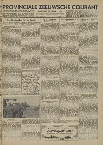 Provinciale Zeeuwse Courant 1944-03-20