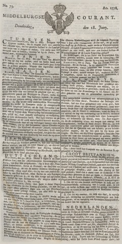 Middelburgsche Courant 1778-06-18