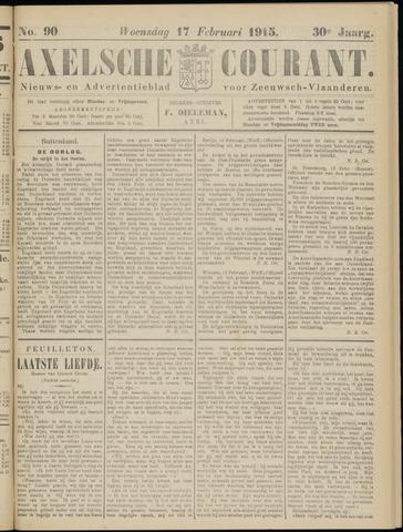 Axelsche Courant 1915-02-17