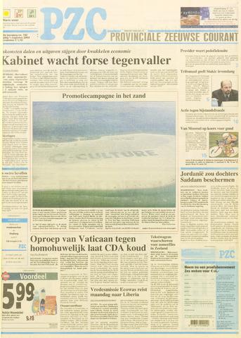 Provinciale Zeeuwse Courant 2003-08-01