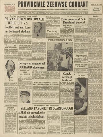 Provinciale Zeeuwse Courant 1962-06-05