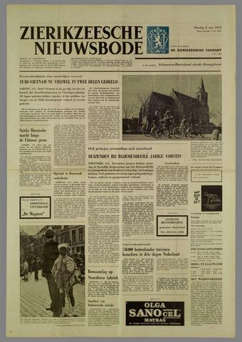 Zierikzeesche Nieuwsbode 1972-05-02