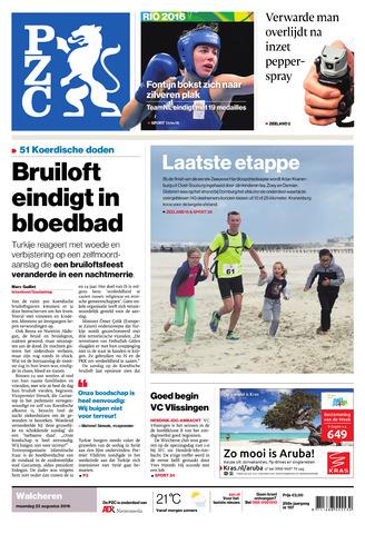 Provinciale Zeeuwse Courant 2016-08-22