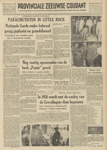 Provinciale Zeeuwse Courant 1957-09-25