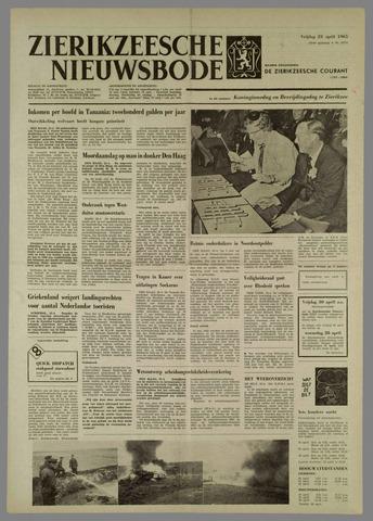 Zierikzeesche Nieuwsbode 1965-04-23