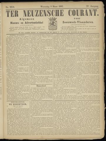 Ter Neuzensche Courant. Algemeen Nieuws- en Advertentieblad voor Zeeuwsch-Vlaanderen / Neuzensche Courant ... (idem) / (Algemeen) nieuws en advertentieblad voor Zeeuwsch-Vlaanderen 1887-03-09