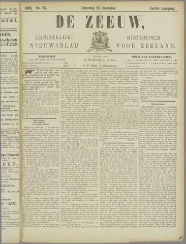 De Zeeuw. Christelijk-historisch nieuwsblad voor Zeeland 1886-12-25