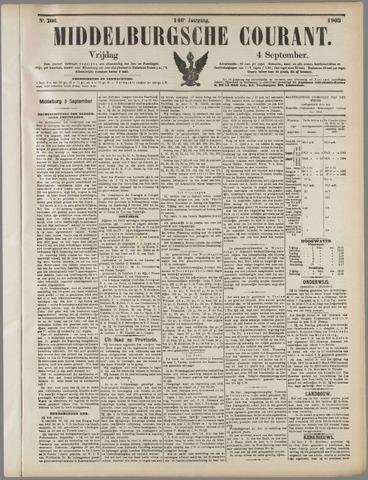 Middelburgsche Courant 1903-09-04