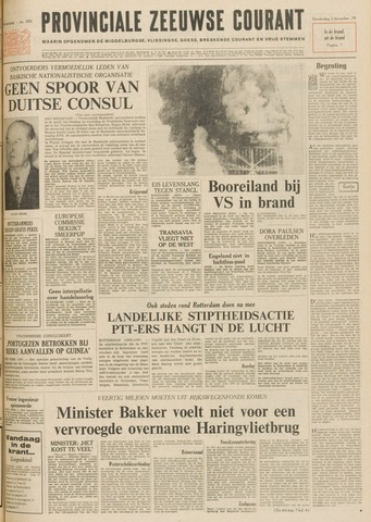 Provinciale Zeeuwse Courant 1970-12-03