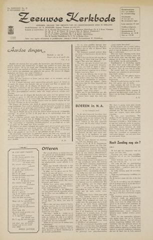 Zeeuwsche kerkbode, weekblad gewijd aan de belangen der gereformeerde kerken/ Zeeuwsch kerkblad 1968-11-21
