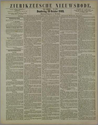 Zierikzeesche Nieuwsbode 1893-10-19