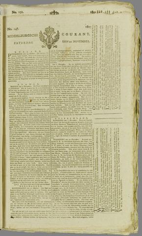 Middelburgsche Courant 1807-11-21