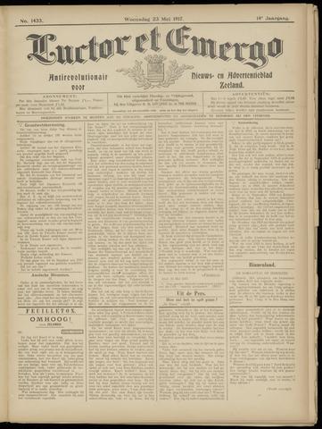 Luctor et Emergo. Antirevolutionair nieuws- en advertentieblad voor Zeeland / Zeeuwsch-Vlaanderen. Orgaan ter verspreiding van de christelijke beginselen in Zeeuwsch-Vlaanderen 1917-05-23