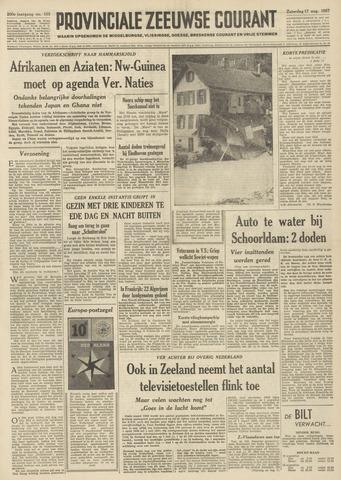Provinciale Zeeuwse Courant 1957-08-17