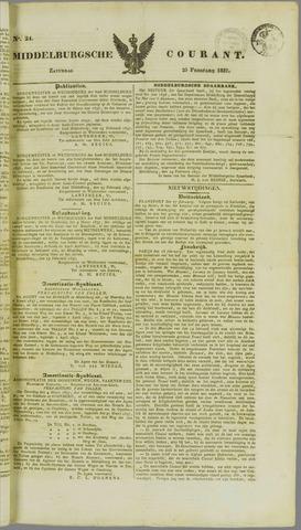 Middelburgsche Courant 1837-02-25
