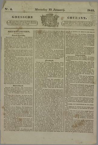 Goessche Courant 1845-01-13