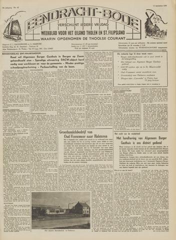 Eendrachtbode (1945-heden)/Mededeelingenblad voor het eiland Tholen (1944/45) 1959-09-11