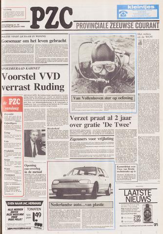 Provinciale Zeeuwse Courant 1989-01-26