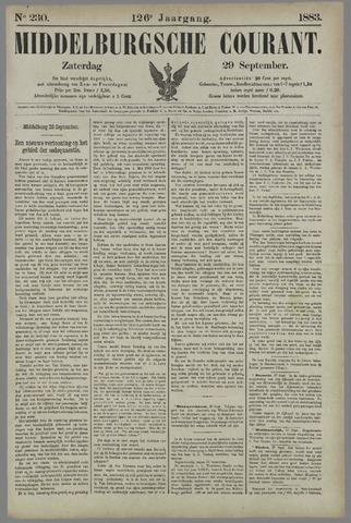 Middelburgsche Courant 1883-09-29