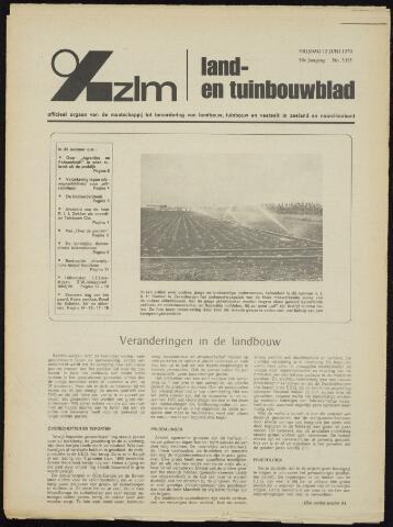 Zeeuwsch landbouwblad ... ZLM land- en tuinbouwblad 1970-06-10