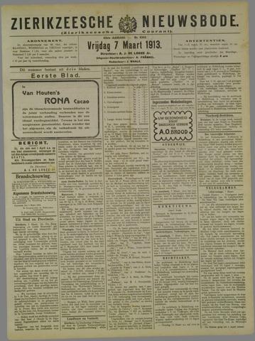 Zierikzeesche Nieuwsbode 1913-03-07