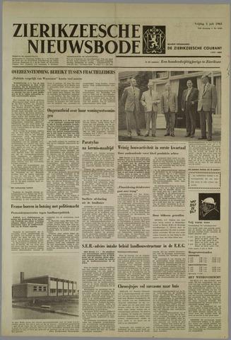 Zierikzeesche Nieuwsbode 1963-07-05