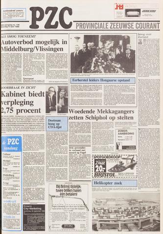 Provinciale Zeeuwse Courant 1989-06-17
