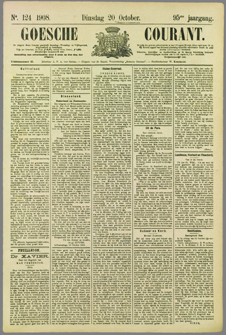 Goessche Courant 1908-10-20