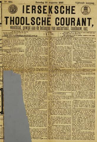 Ierseksche en Thoolsche Courant 1897-08-21