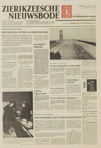 Zierikzeesche Nieuwsbode 1973-02-12