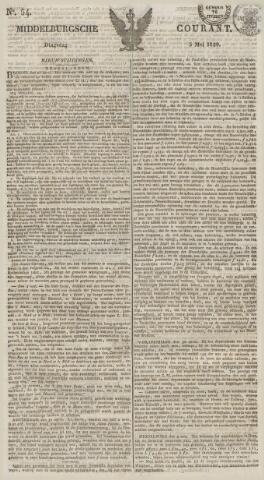 Middelburgsche Courant 1829-05-05