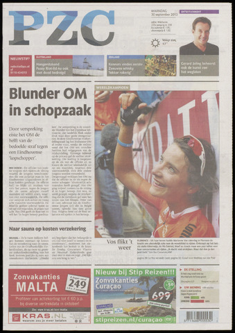 Provinciale Zeeuwse Courant 2013-09-30