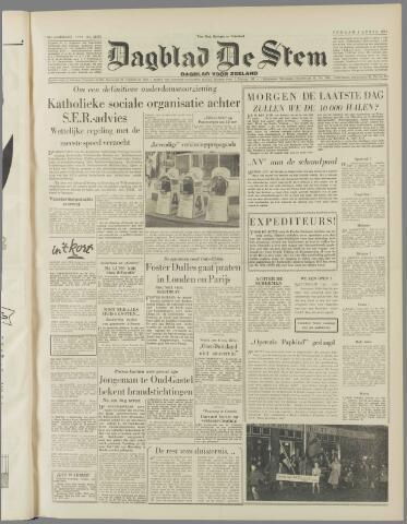 de Stem 1954-04-09