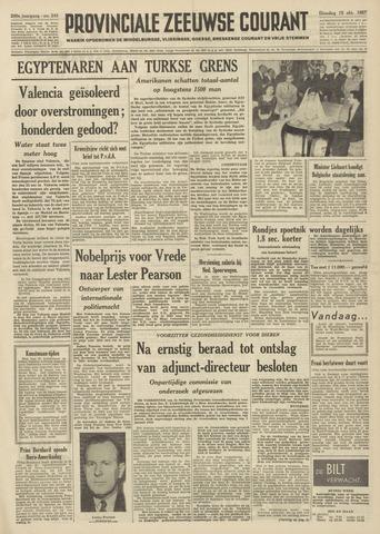 Provinciale Zeeuwse Courant 1957-10-15