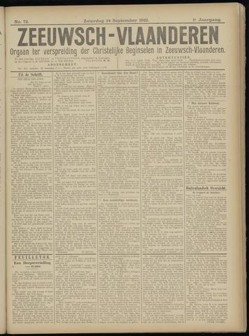Luctor et Emergo. Antirevolutionair nieuws- en advertentieblad voor Zeeland / Zeeuwsch-Vlaanderen. Orgaan ter verspreiding van de christelijke beginselen in Zeeuwsch-Vlaanderen 1918-09-14